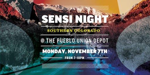 Sensi Night Southern Colorado 11.7.19