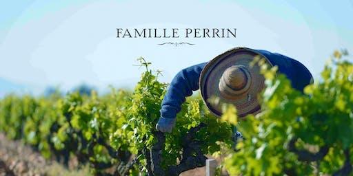 Famille Perrin Wine Tasting