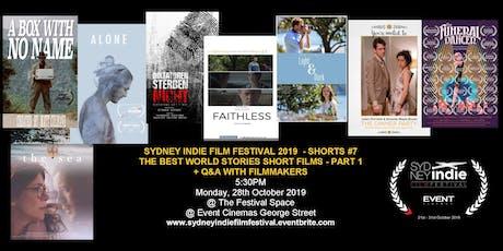 Sydney Indie Film Festival 2019 – World Stories Short Films Part 1! tickets