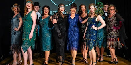 Vintage fashion, fizz and pamper evening tickets