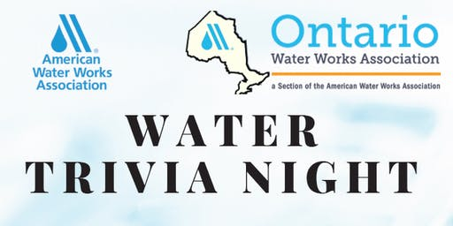 Water Trivia Night!