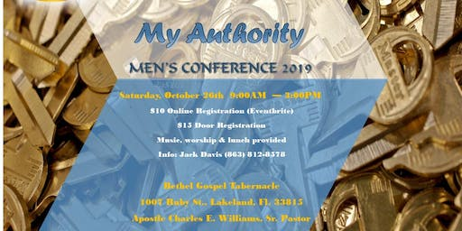 """My Authority"" Men's Conference 2019"