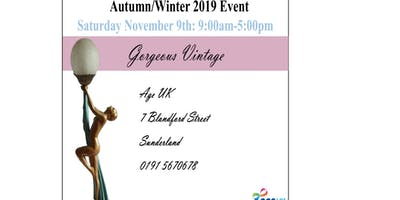 Age Uk Gorgeous Vintage Autumn Event Saturday 9th November 2019
