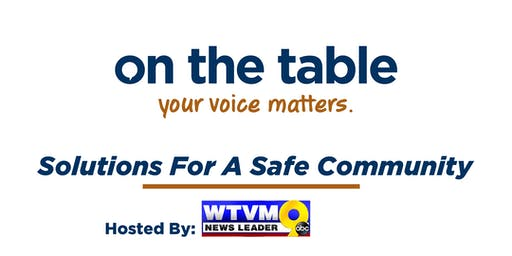 On the Table Chatt: Solutions for a Safe Community with WTVM