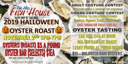 Halloween Oyster Tasting & Roast