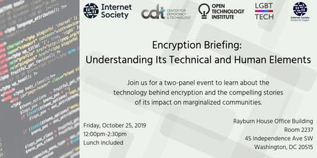 Encryption Briefing: Understanding Its Technical and Human Elements tickets
