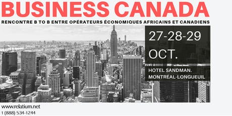 FORUM BUSINESS CANADA tickets