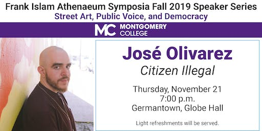 "Jose Olivarez  presents ""Citizen Illegal"""