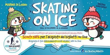 ice skating miletto biglietti