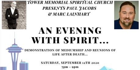 AN EVENING WITH SPIRIT - PAUL JACOBS AND MARC LAINHART - SEATTLE, WA tickets