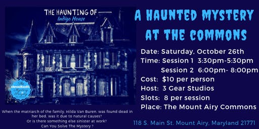 A Haunted Mystery  at The Commons