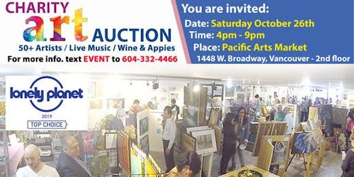 [Free Event] Charity Art Auction October 26, 2019 - Pacific Arts Market