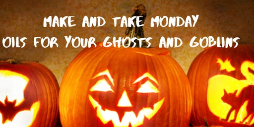 Monday Make and Take: Healthy Ghosts and Goblins