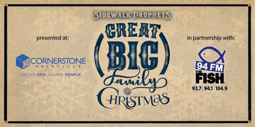 Sidewalk Prophets' Great Big Family Christmas