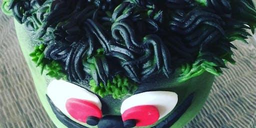 Tweens & Teens Creepy Monster Cake Decorating Class