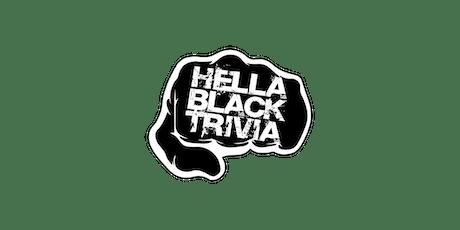 HGBSA presents: Hella Black Trivia tickets
