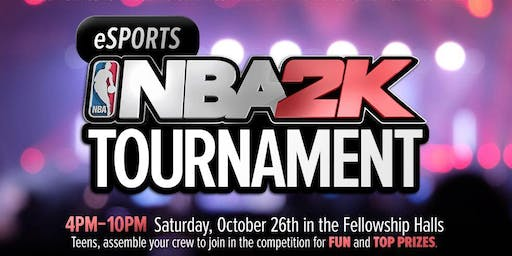 eSports NBA 2K Tournament @ Reid Temple