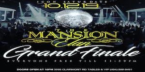 Icon Saturdays At The Mansion Elan Grand Finale This Sa...