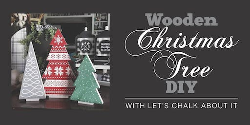 Wooden Christmas Tree DIY