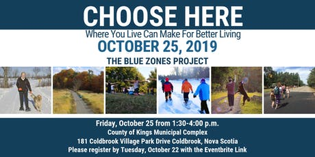 Choose Here: Where You Live Can Make For Better Living tickets