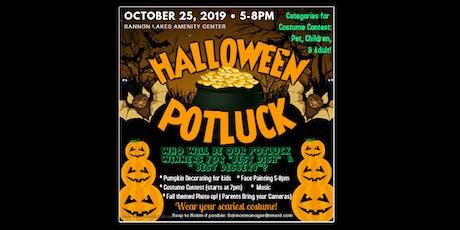 Bannon Lakes Halloween Potluck & Costume Party! tickets