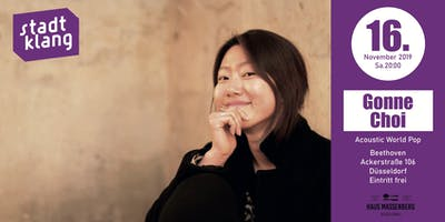«stadtklang» with Gonne Choi // at Café Beethoven
