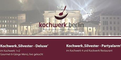 Silvesterparty 2019 im kochwerk.berlin Tickets
