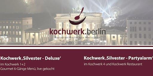 Silvesterparty 2019 im kochwerk.berlin