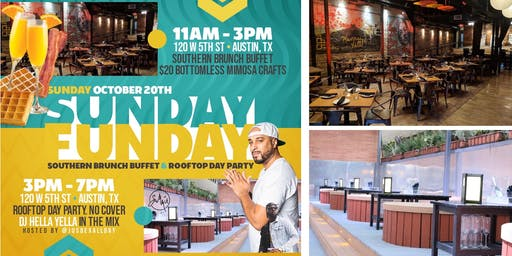 Sunday Funday Southern Brunch & Rooftop Day Party