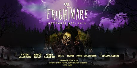 UBL presents Frightmare tickets