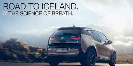 BMWi Road to Iceland con Daniele Vecchioni biglietti