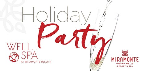 Well Spa Holiday Party tickets