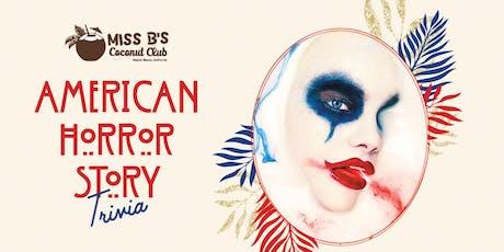 American Horror Story Trivia Night tickets