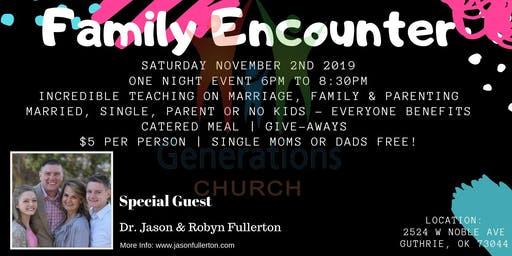 Family Encounter 2019