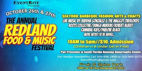 Redland Food & Music Festival tickets