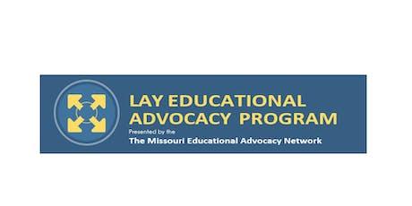 Missouri Lay Educational Advocacy Training-Kansas City tickets