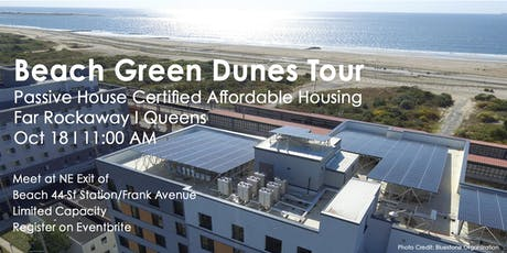 Tour of Passive House Certified Affordable Housing -  Beach Green Dunes tickets
