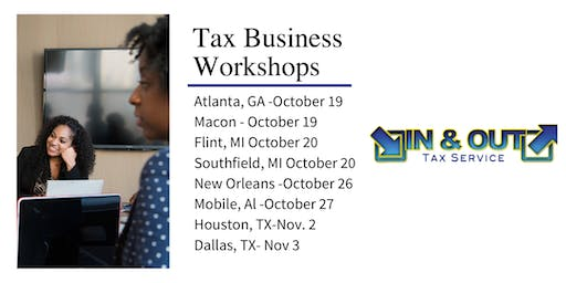 In & Out Tax Service - Tax Business Seminar - Macon