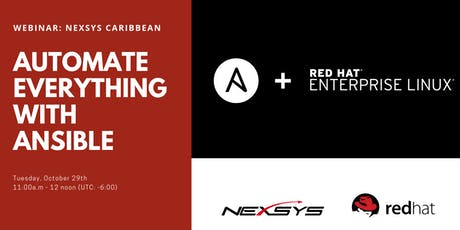 Webcast Caribbean: Automate everything with Ansible tickets