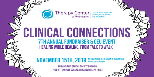 Clinical Connections: 7th Annual Fundraiser & CEU Event