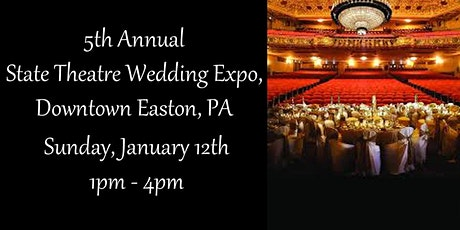 5th Annual State Theatre Wedding Expo tickets