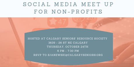 Social Media Meet Up for Non-Profit Organizations tickets