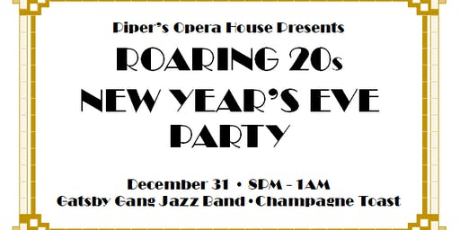 Roaring  20s New Year's Eve Party