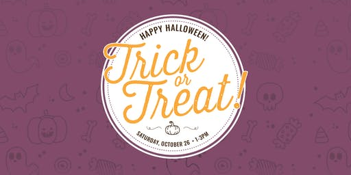 Trick or Treating at Laurel Shopping Center!