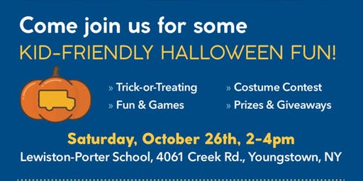 Trick-or-Treat with Ridge Road Express