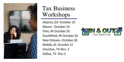 In & Out Tax Service - Tax Business Seminar - New Orleans