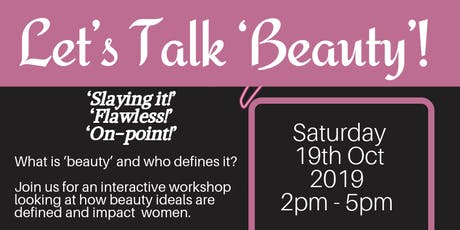 Let's Talk 'Beauty'! tickets
