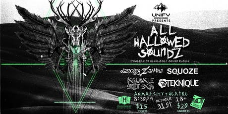 ALL HOLLWED SOUNDZ ft. Dancing Arrow, Squoze, Krunkle Stilt Skin, Teknique tickets