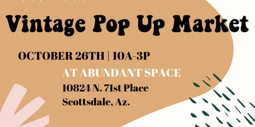 Vintage Pop Up Market