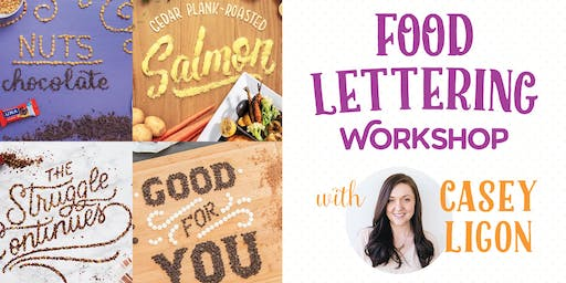 Food Lettering Workshop